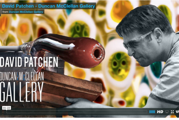 Featured Artist Video: David Patchen