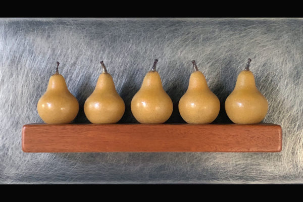 Five Gold Pears