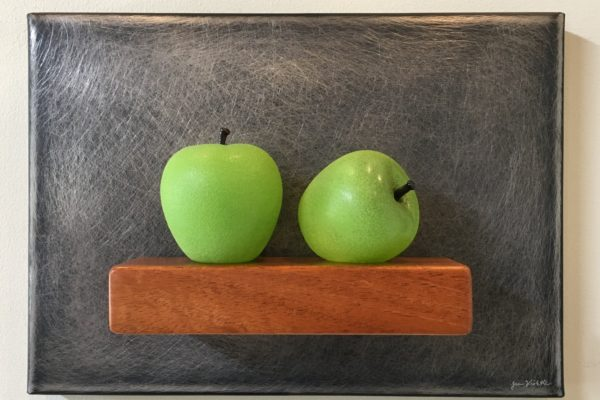 2 Green Apples