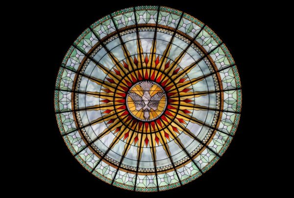 stained glass window, the history of glass art