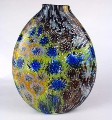 Bright Murrini Vase