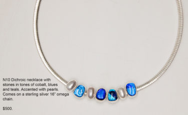 N10 Dichroic Necklace