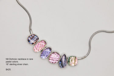 N8 Dichroic Necklace