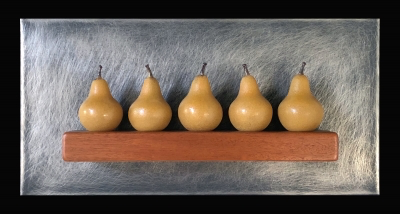 Five Small Gold Pears