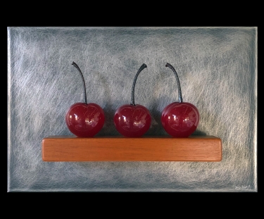 Three Cherries Still Life