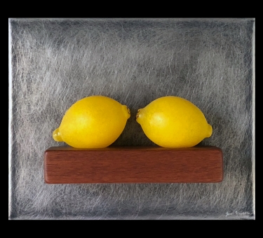 Two Lemons Still Life