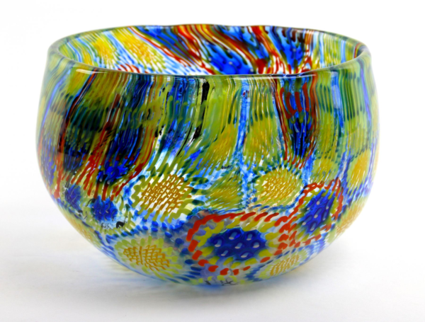 Bright Murrini Bowl