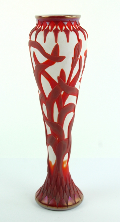 #3 Red Figural Vase Cameo