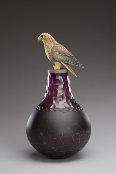 Hawk Spirit Jar